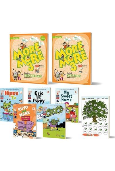 Kurmay More 3. Sınıf Englısh Practıce Book + Workbook + Hikaye+ Craft Book