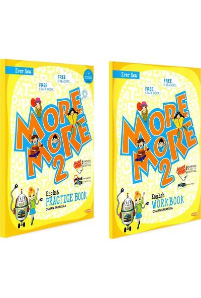 Kurmay Yayınları More 2. Sınıf Englısh Practice Book + Workbook + Hikaye + Craft Book