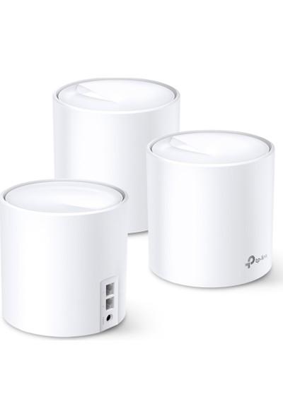 TP-Link Deco X60 AX 3000 Mbps Tüm Ev Mesh Wi-Fi 6 Mesh 3'lü WiFi Sistemi
