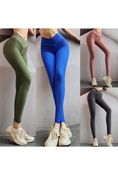 Buyfun Yoga Tozluk Uzun Pantolon Çabuk Kuru Yüksek
