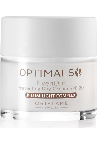 Oriflame Optimals Even Out Önleyici Gündüz Kremi Spf 20, 50 ml
