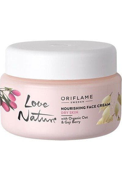 Oriflame Love Nature Besleyici Yüz Kremi 50 ml