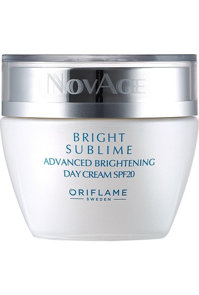 Oriflame Novage Bright Sublime Gündüz Kremi 50 ml