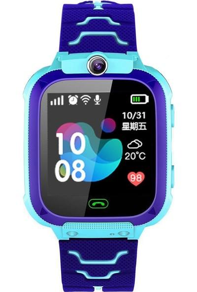 Smartbell Q540/2019 Sim Kartlı Akıllı Çocuk Saati - Mavi