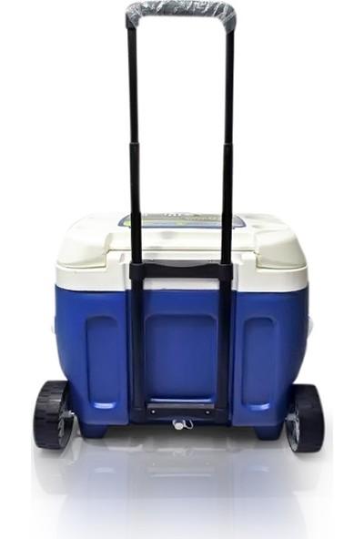 Pinn Cle Prudence 66LT. Tekerlekli Buzluk Mavi