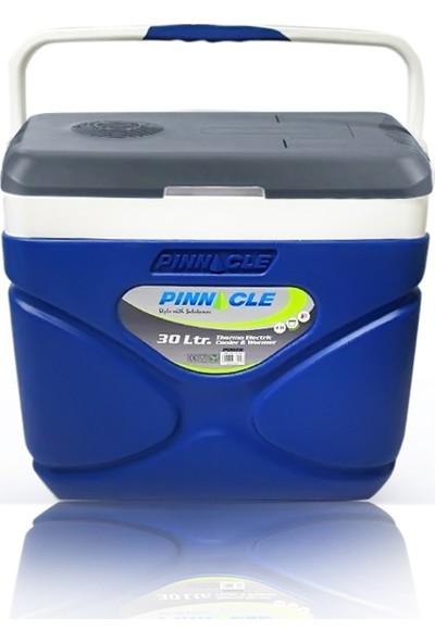 Pinn Cle Elektirikli Oto Buzluk 30LT.SICAK Soğuk 220VOLT Ac/dc Mavi