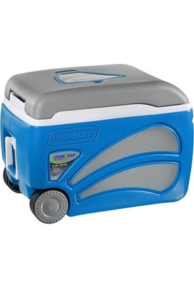 Pinn Cle PROXON45LT. Tekerlekli Buzluk Mavi
