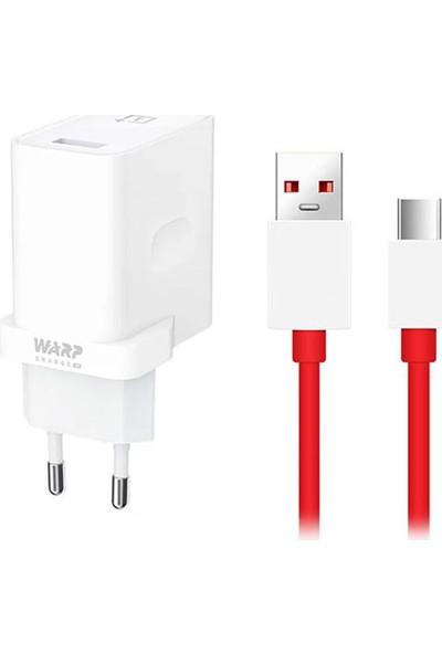 Oneplus Warp Charge 30W Şarj Aleti + Type-C Kablo