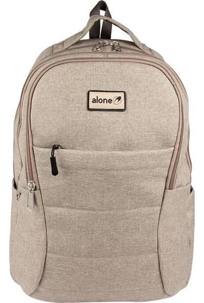 Alone 7603 Koton Sırt Çantası Bej