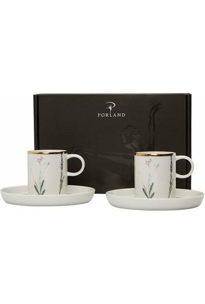 Porland Botanical Kahve Takımı 4 Parça