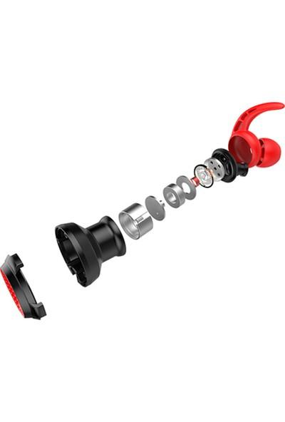 Rampage RM-K21 Superb 3.5mm Kulak Içi Mikrofonlu Kulaklık Kırmızı