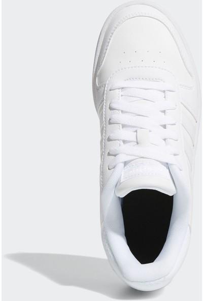 Adidas Beyaz Çocuk Basketbol Ayakkabısı