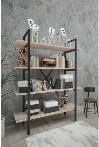 Wood House Sahra Kitaplık Cordoba