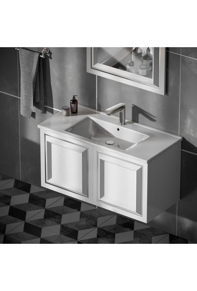 Belinza Skali Banyo Dolabı Takımı 100 cm