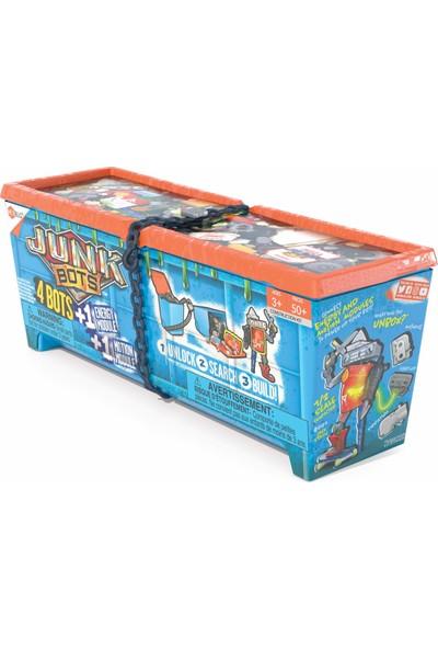 Hexbug Junkbots - Large Dumpster Süpriz Oyuncağını Yap 50 Parça+