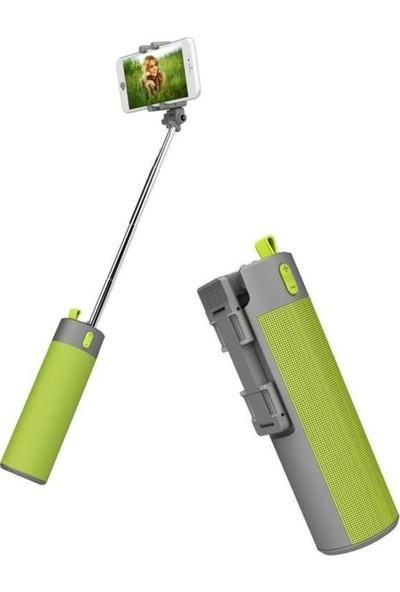 Twinix 3'ü 1 Arada Speaker - Selfie - Powerbank
