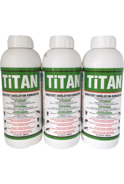 Titan 1000 ml Haşere Hamam Böceği Karınca Kene Mücadelesinde Etkili