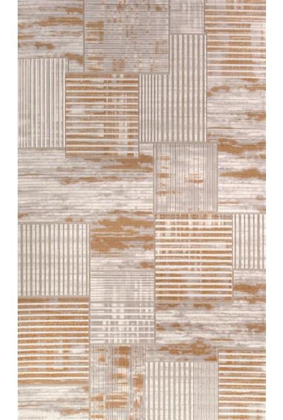Bahariye Halı Poyraz 77 x 150 6615 Sarı-Modern Halı-Salon Halısı
