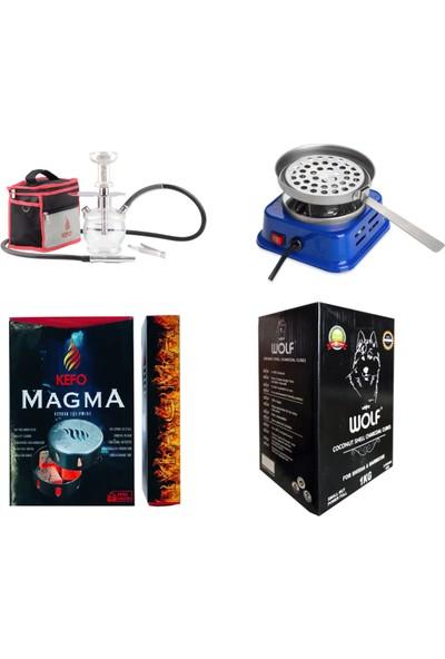 Kefo Süper Nargile Başlangıç Seti 4 Ürün 1 Paket