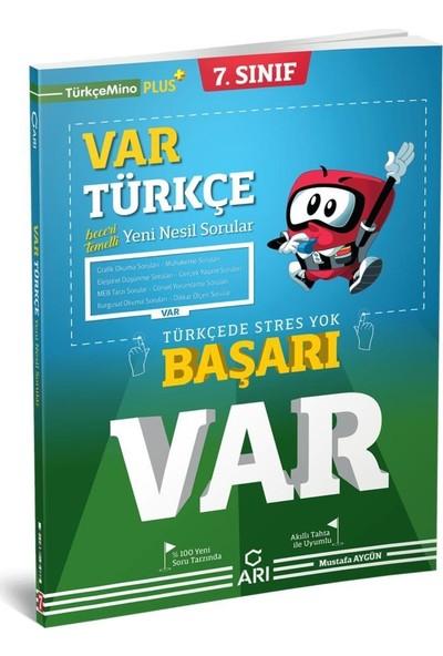 Arı Yayıncılık 7. Sınıf Var Türkçe Yeni Nesil Soru Bankası