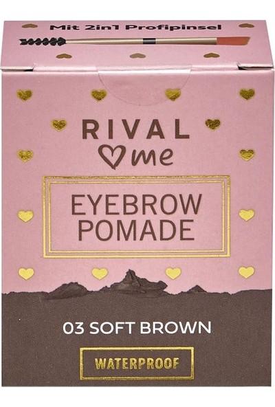 Rival Loves Me Kaş Pomadı No:03 Soft Kahve