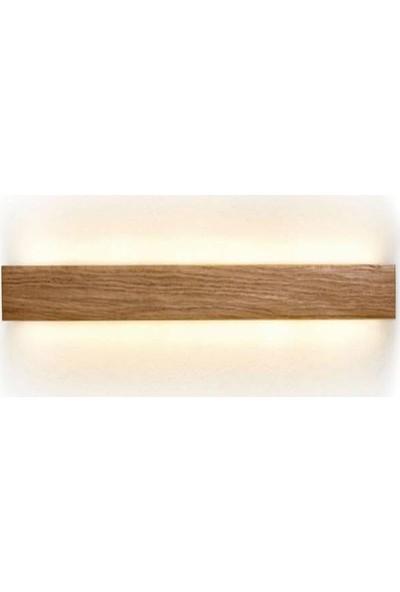 Zanaat LED Aydınlatma Ahşap Çift Yönlü Aplik Bar Dekor LED