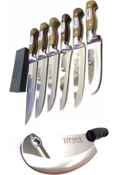 SürLaz Sürmene Bıçak Seti 7 Parça Satır Zırh Bıçak