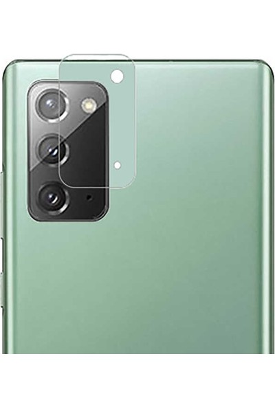 Teleplus Samsung Galaxy Note 20 Tam Kapatan Ekran Koruyucu Siyah + Kamera Nano Koruyucu