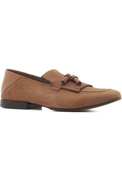 İlvi Trula Erkek Makosen Ayakkabı Mountoun Nubuk