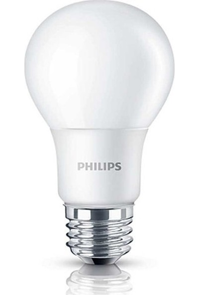 Philips Essential 8W - 60W LED Ampul E27 Sarı Işık 12'li