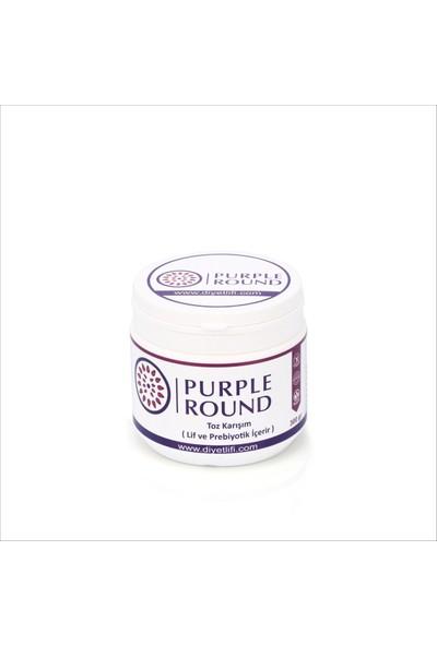 Purple Round Diyet Lifi 300 G/adet %100 Çözünebilir Toz