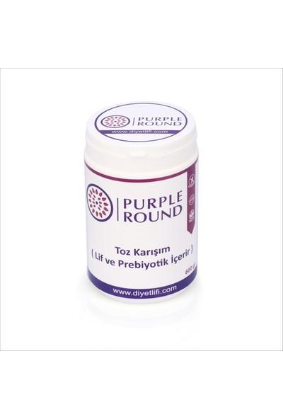 Purple Round Diyet Lifi 600 G/adet %100 Çözünebilir Toz