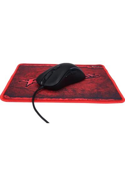 Xtrike Me GMP-290 3600DPI Optik Mouse + Mouse Pad