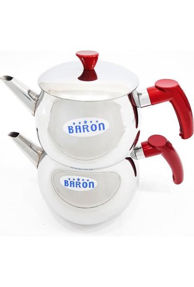 Baron Küre Aile Boy Çelik Çaydanlık