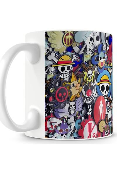 Penguen Dükkan One Piece Baskılı Kupa Bardak