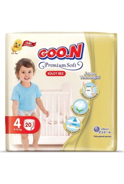 Goon Premium Soft Külot Bez 4 Beden 20 Li x 6