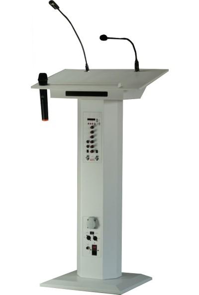 Doğa Grup Akıllı Elektronik Konuşma Kürsüsü Beyaz