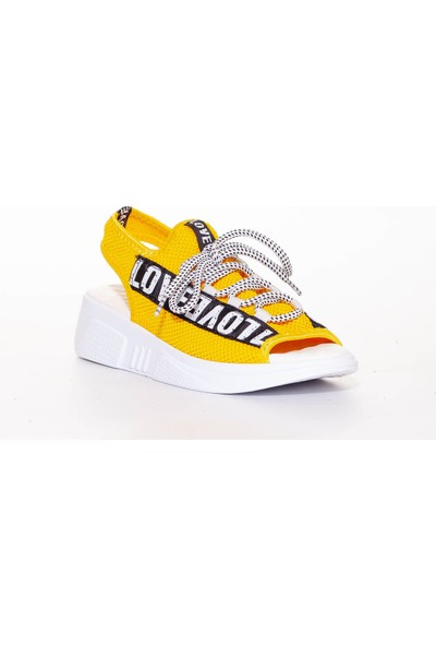 Erbilden Love Hardal Sandalet