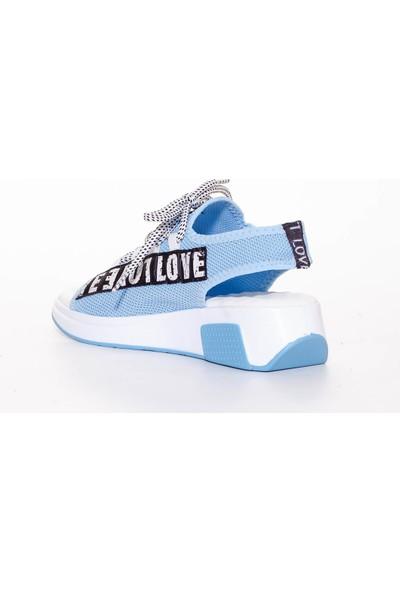 Erbilden Love Mavi Sandalet