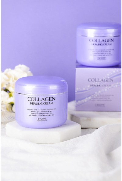 Jigott Hidrolize Collagen Sıkılaştırıcı Onarıcı Yaşlanma Karşıtı Gece Kremi