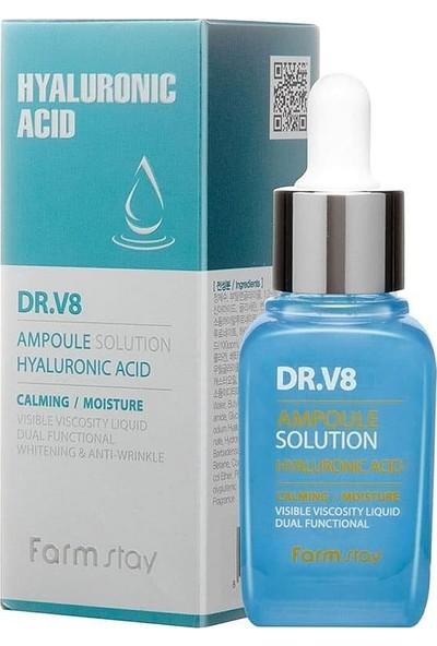 Farmstay Saf Hyalüronik Asit Dr.v8 Ampül - Nemlendirici Yenileyici Gençleştirici ve Kırışıklık Karşıtı