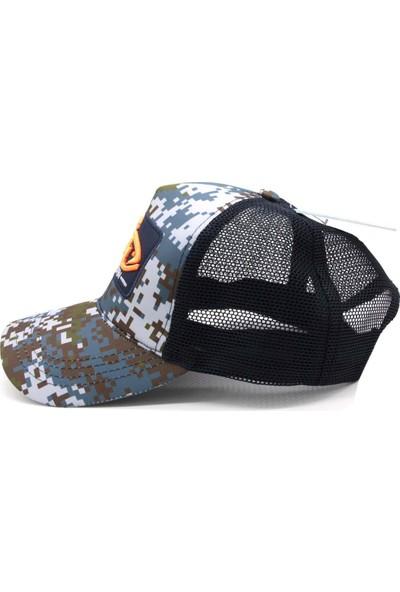 Fujin Blue Camo Cap (Şapka)
