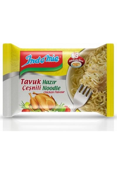 Indomie Tavuk Çeşnili Hazır Noodle 70Gr-40'Lı (Sarı)