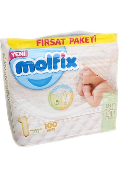 Molfix Dev Eko Yeni Doğan 2-5 (100)-3'Lü