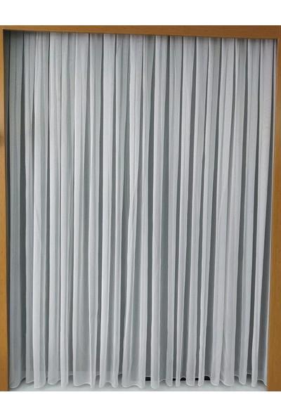 Passione Çizgi Tül Perde Sıkı Dokuma 1/3 Pile PS114
