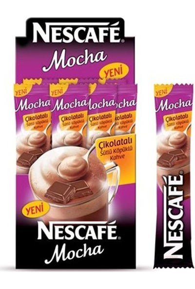 Nescafe Mocha 17.9Gr - 24'Lü Paket