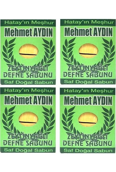 Mehmet Aydın Zeytinyağlı Defne Sabunu 950 gr x 4 Paket