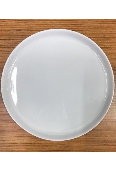 Güral Porselen Servis Sunum Tabağı 6'lı 25 cm