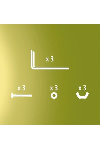 SlimFlex Deco Bella Duvar Bağlantı L Ayak 3 Adet