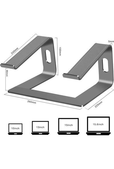 iDock M5 Alüminyum Ergonomik Macbook Bilgisayar Standı Space Gray